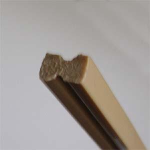 Junta de dilatação para piso de cimento