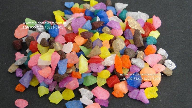 Cascalhos Coloridos